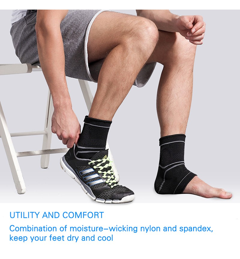 Asoonyum Ankle Compression Sleeve