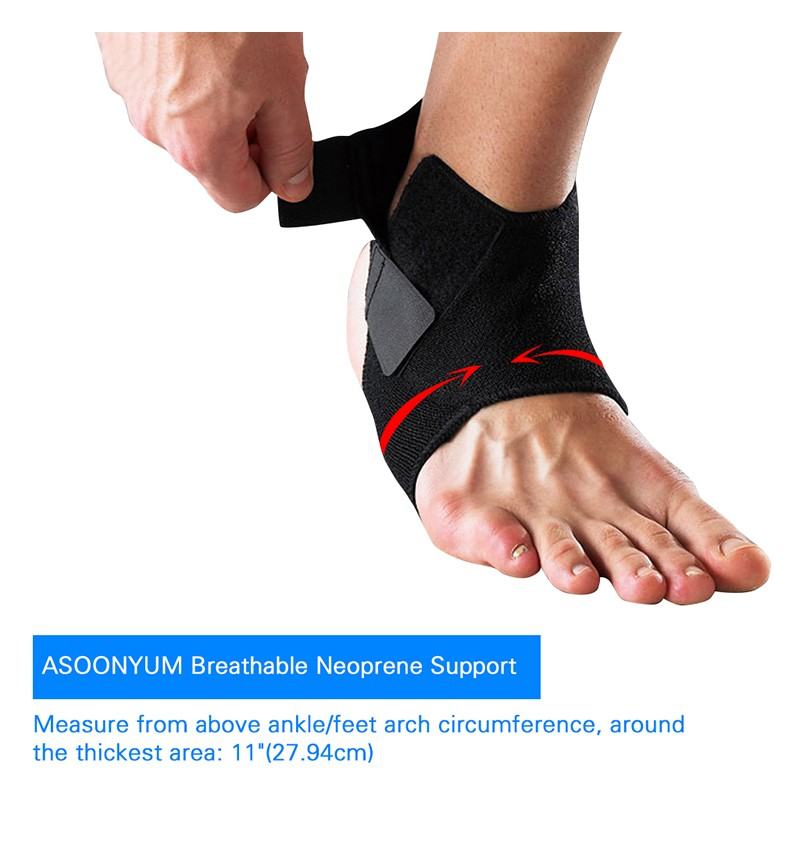 Asoonyum Ankle Support Sprained