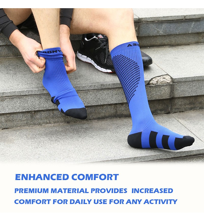 Asoonyum Graduated Compression Socks